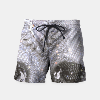 Thumbnail image of diamond skull Swim Shorts, Live Heroes