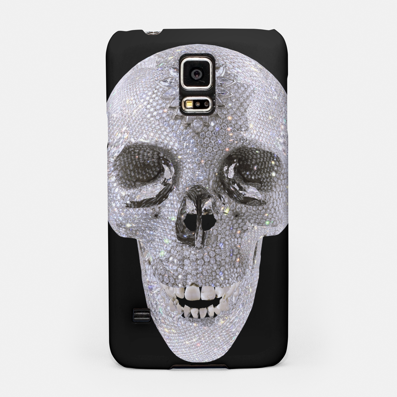Image of diamond skull Samsung Case - Live Heroes
