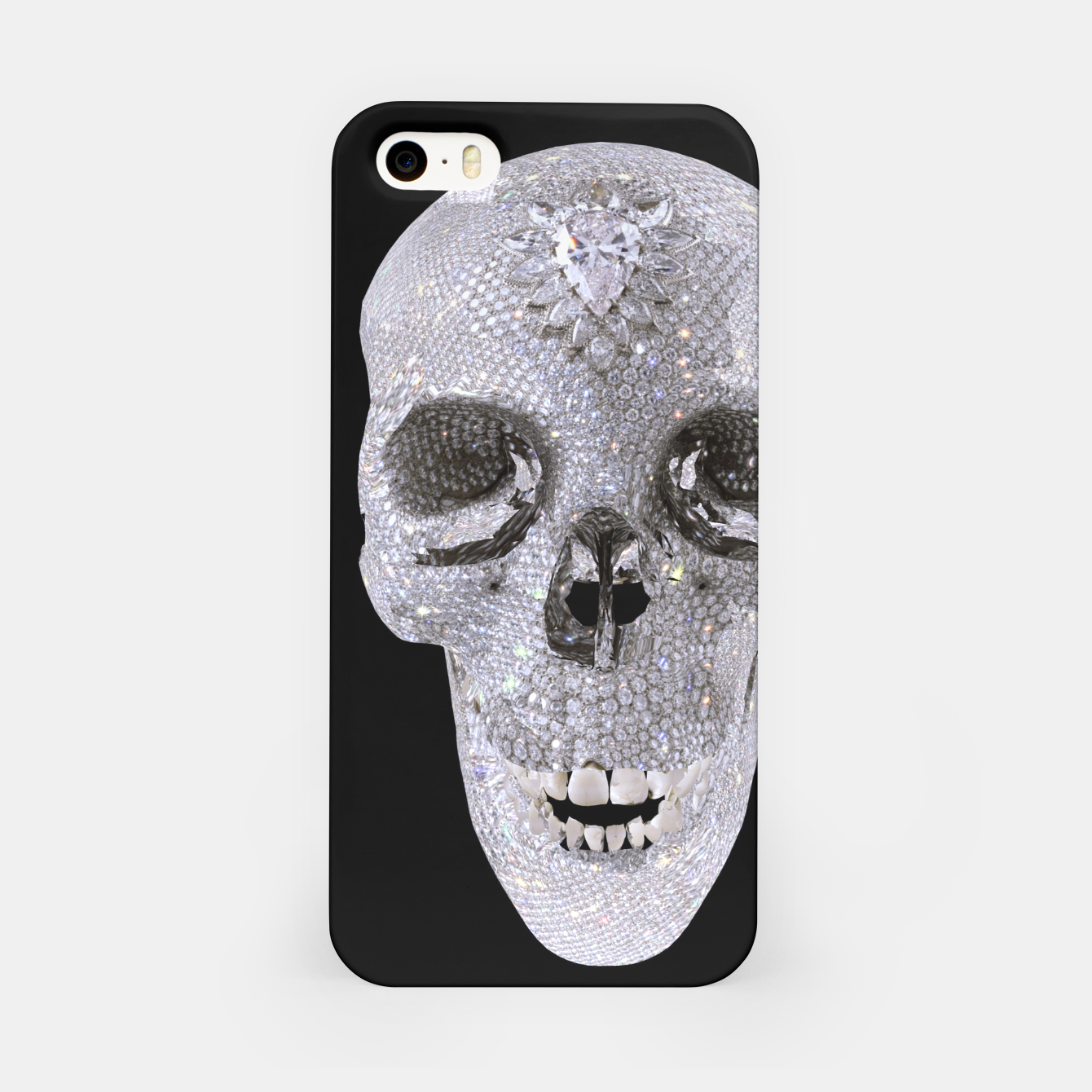 Image of diamond skull iPhone Case - Live Heroes