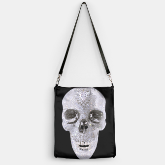 Thumbnail image of diamond skull Handbag, Live Heroes