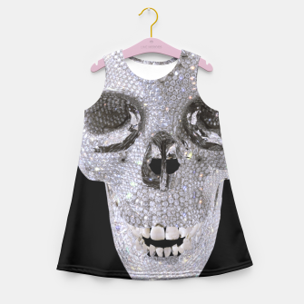diamond skull Girl's Summer Dress thumbnail image