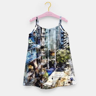 Thumbnail image of Athens city Girl's Dress, Live Heroes