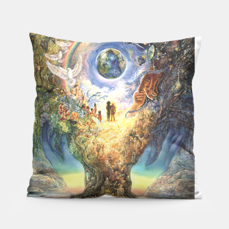 Thumbnail image of Tree of Peace Pillow, Live Heroes