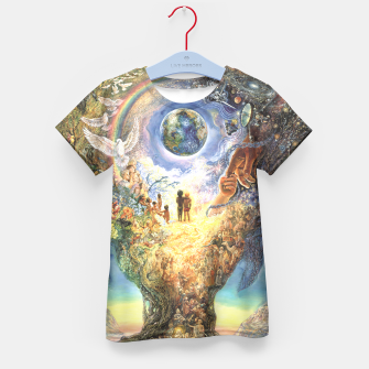 Thumbnail image of Tree of Peace Kid's T-shirt, Live Heroes