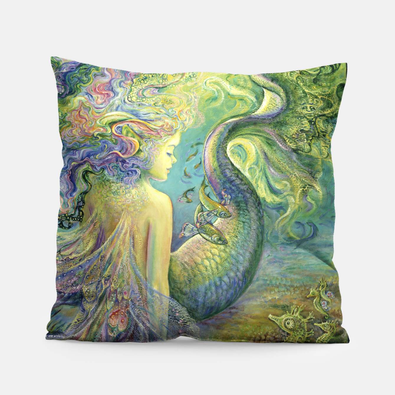 Image of Mer-Fairy Pillow - Live Heroes
