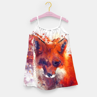 Thumbnail image of Red Fox Girl's Dress, Live Heroes