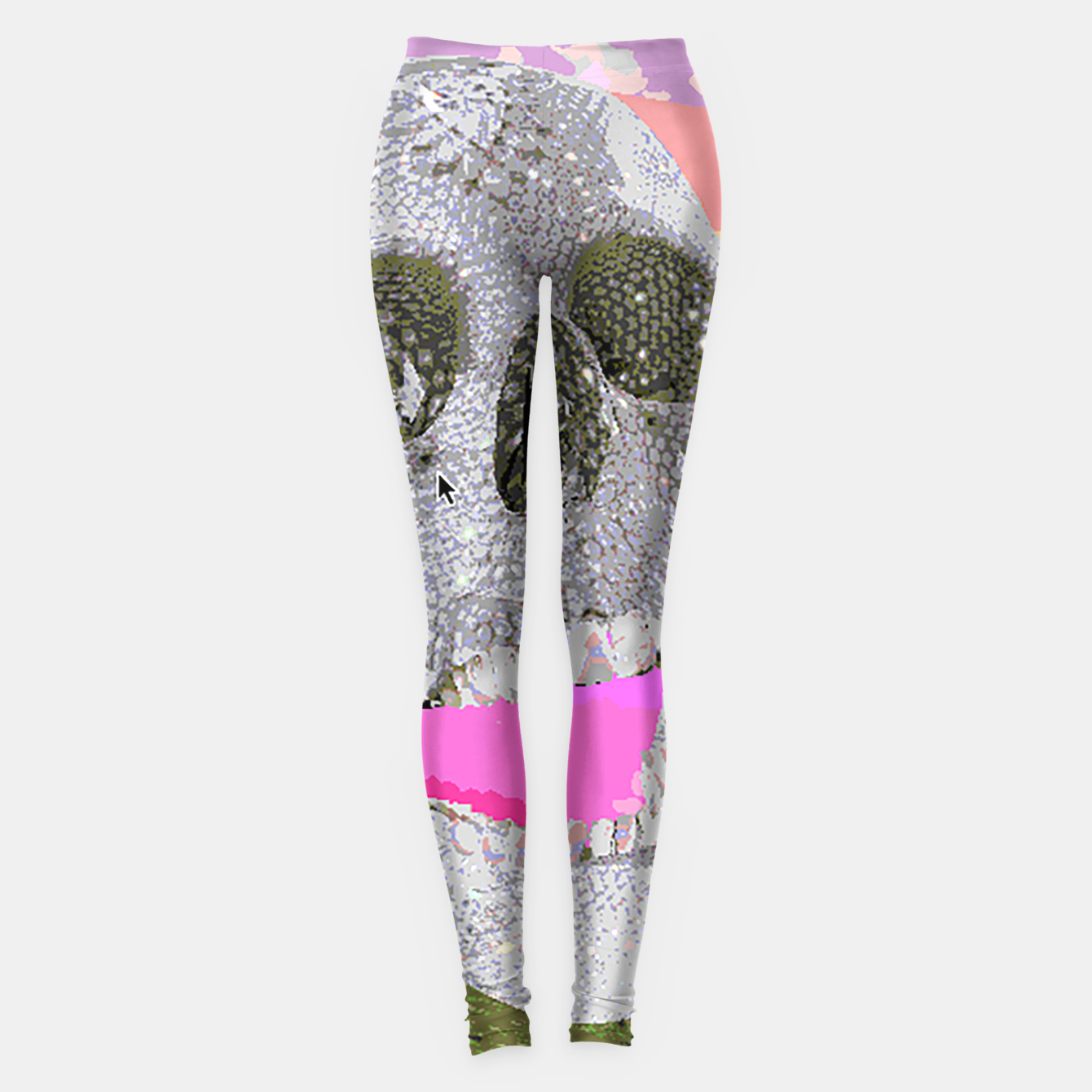 Image of skull chomp Leggings - Live Heroes
