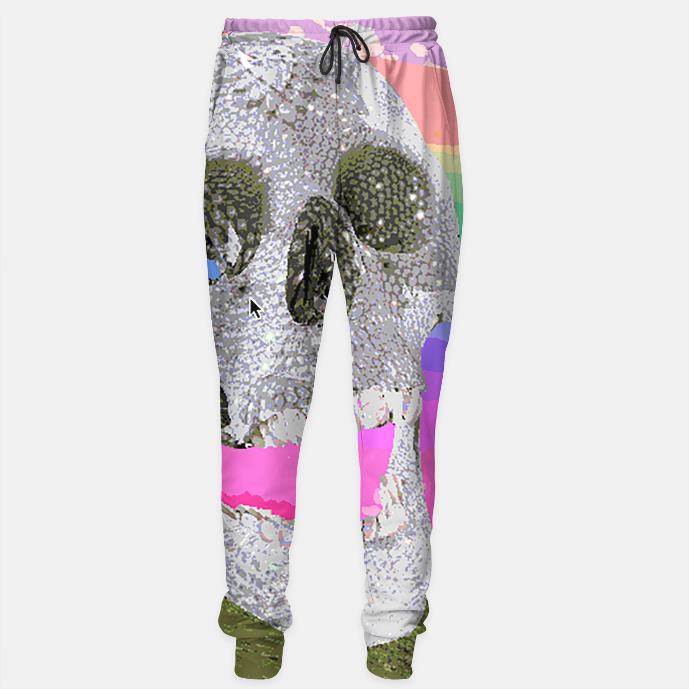 Image of skull chomp Sweatpants - Live Heroes