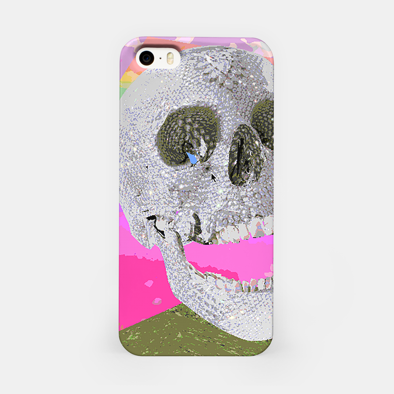 Image of skull chomp iPhone Case - Live Heroes