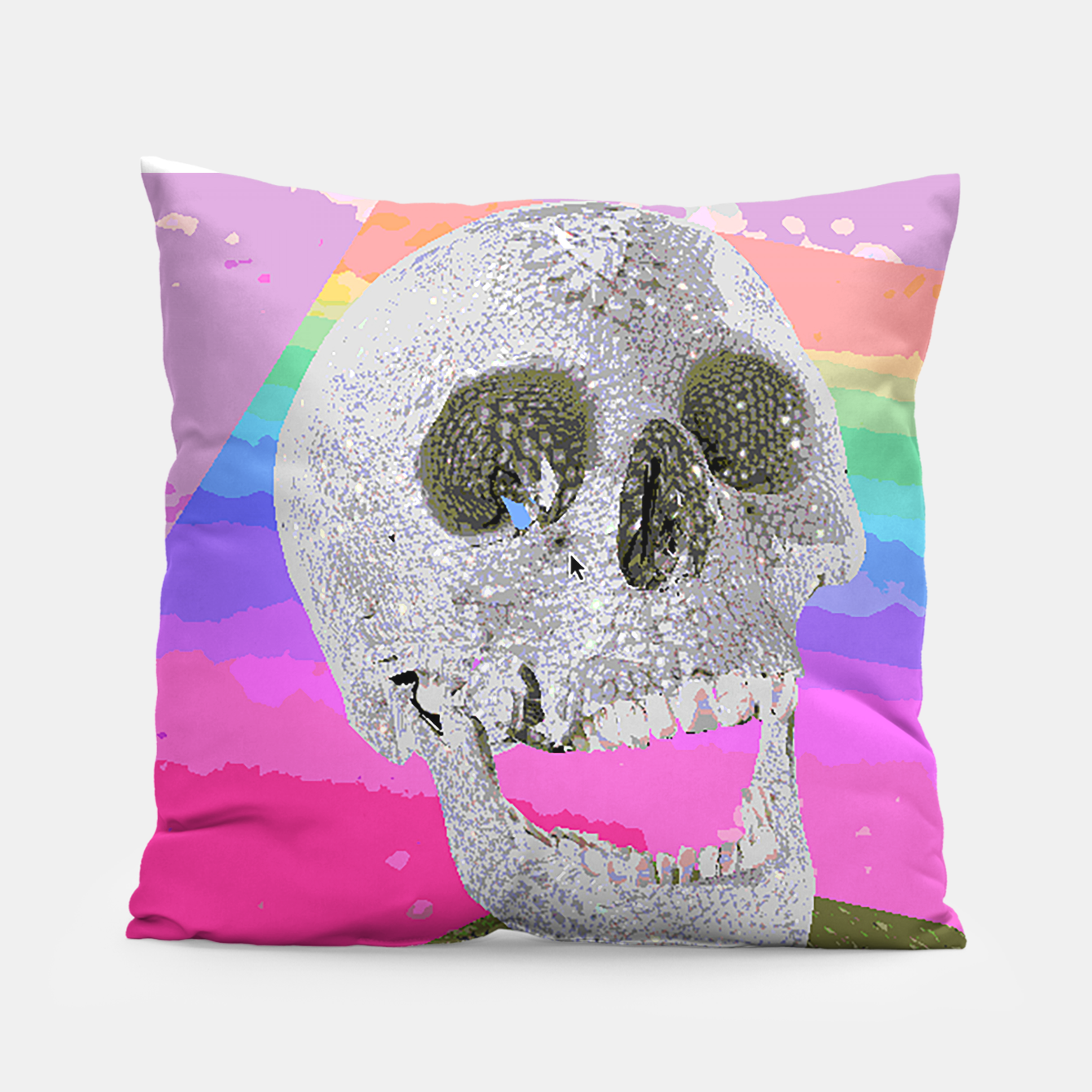 Image of skull chomp Pillow - Live Heroes