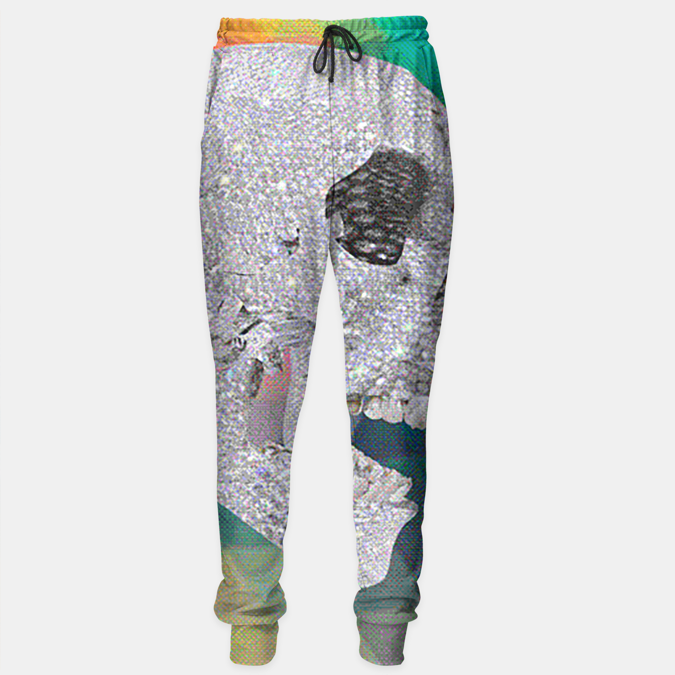 Image of diamond skull chomp Sweatpants - Live Heroes