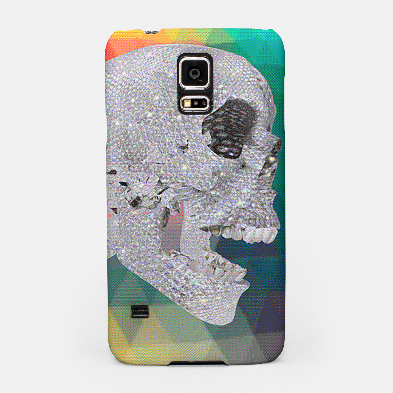 Image of diamond skull chomp Samsung Case - Live Heroes