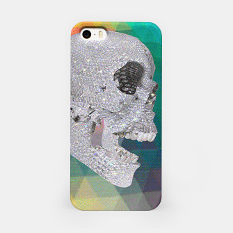Thumbnail image of diamond skull chomp iPhone Case, Live Heroes