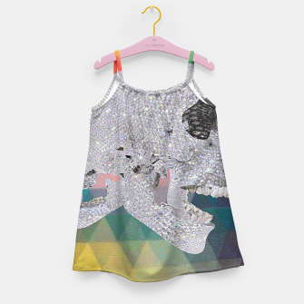Thumbnail image of diamond skull chomp Girl's Dress, Live Heroes