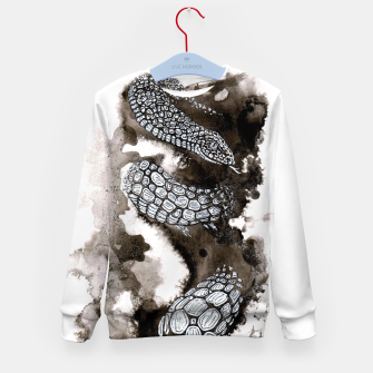 Thumbnail image of Snake Kid's Sweater, Live Heroes