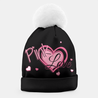 Thumbnail image of Pink Love Beanie, Live Heroes