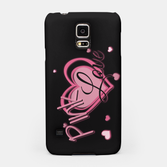 Thumbnail image of Pink Love Samsung Case, Live Heroes