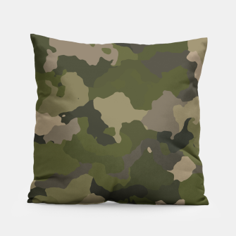 Thumbnail image of Huntress Camo Pillow, Live Heroes