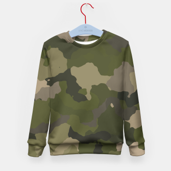 Thumbnail image of Huntress Camo Kid's Sweater, Live Heroes