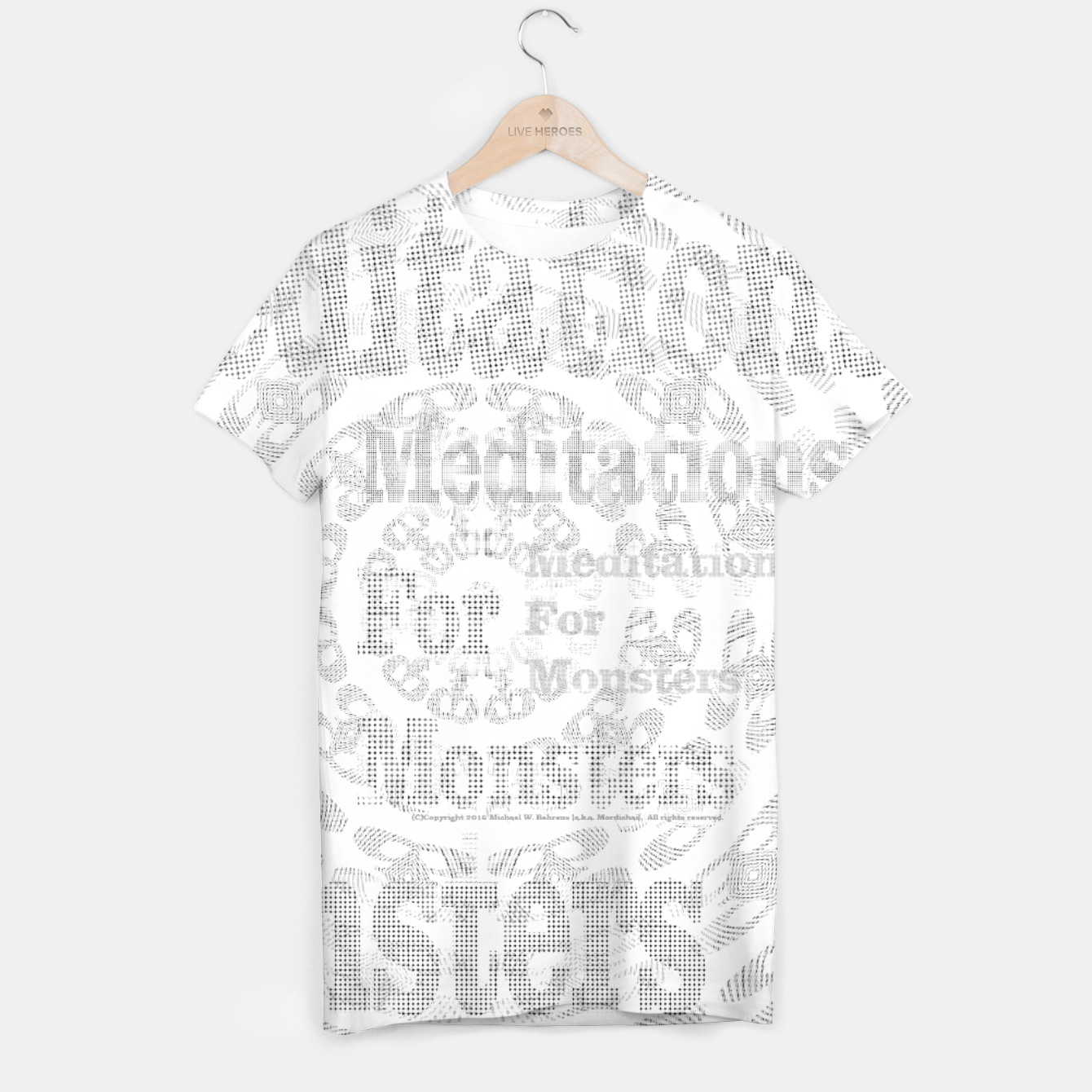 Image of Meditations For Monsters Solstice Tee - Live Heroes
