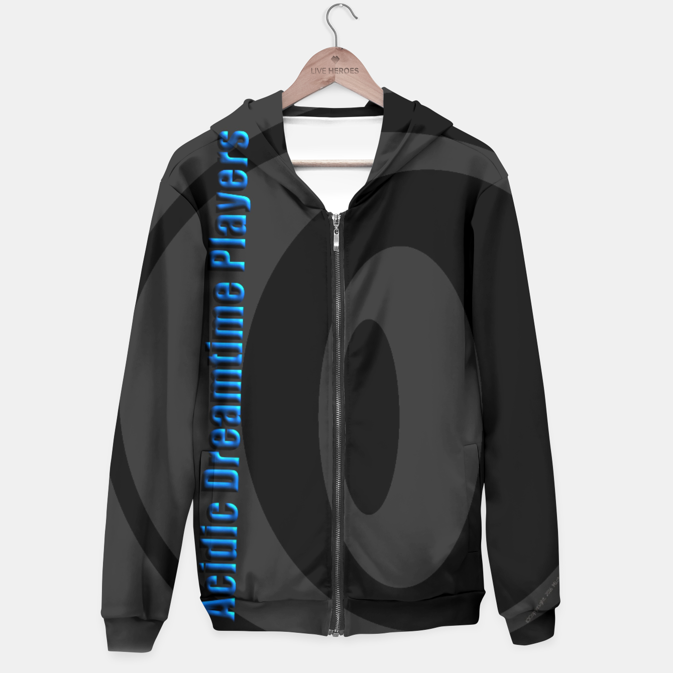 Image of Acidic Dreamtime Players Solstice Hoodie - Live Heroes