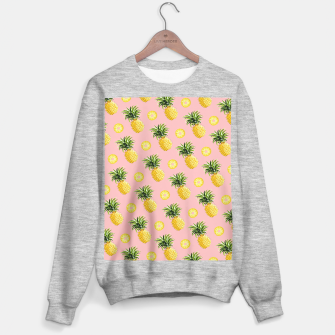 Pineapple and pink Sweater regular thumbnail image