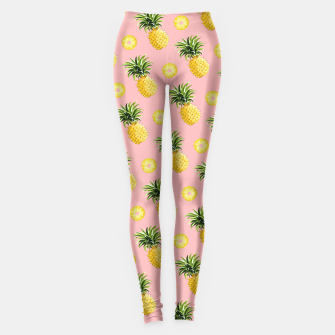 Pineapple and pink Leggings thumbnail image