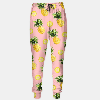Miniatur Pineapple and pink Sweatpants, Live Heroes