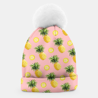 Pineapple and pink Beanie thumbnail image