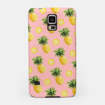 Pineapple and pink Samsung Case thumbnail image