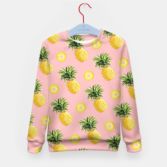 Pineapple and pink Kid's Sweater thumbnail image