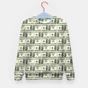 Miniaturka Money Kid's Sweater, Live Heroes