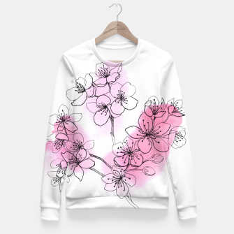 Thumbnail image of Cherry blossom Fitted Waist Sweater, Live Heroes