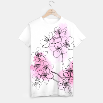 Thumbnail image of Cherry blossom T-shirt, Live Heroes