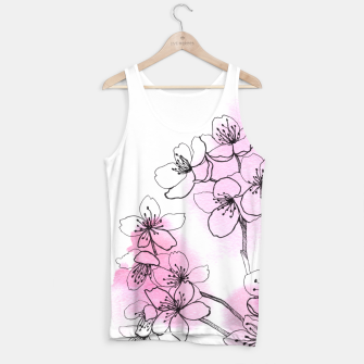 Thumbnail image of Cherry blossom Tank Top, Live Heroes