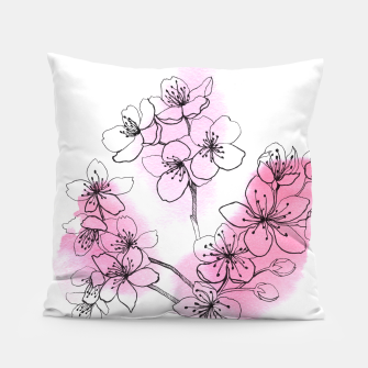 Thumbnail image of Cherry blossom Pillow, Live Heroes