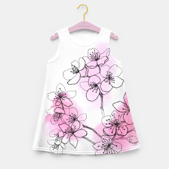 Thumbnail image of Cherry blossom Girl's Summer Dress, Live Heroes