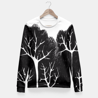 Thumbnail image of Trees Fitted Waist Sweater, Live Heroes