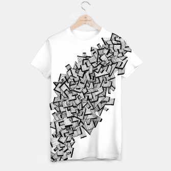 Thumbnail image of Lines T-shirt, Live Heroes
