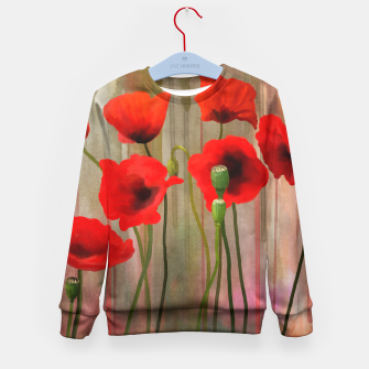 Miniaturka Poppies Kid's Sweater, Live Heroes