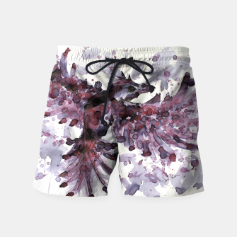 Thumbnail image of Tea Bird Swim Shorts, Live Heroes