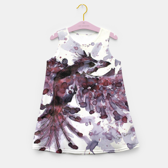 Thumbnail image of Tea Bird Girl's Summer Dress, Live Heroes