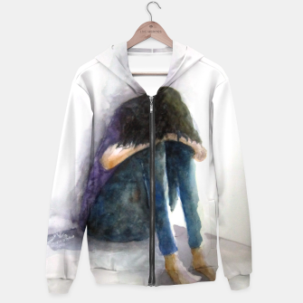Thumbnail image of sadness Hoodie, Live Heroes
