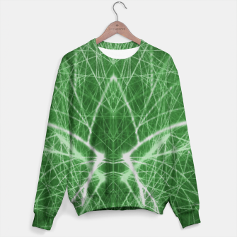 Thumbnail image of Piercing Green Sweater, Live Heroes