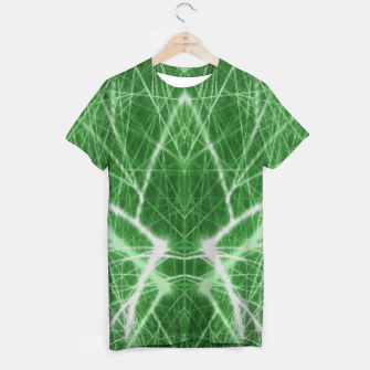 Thumbnail image of Piercing Green T-shirt, Live Heroes
