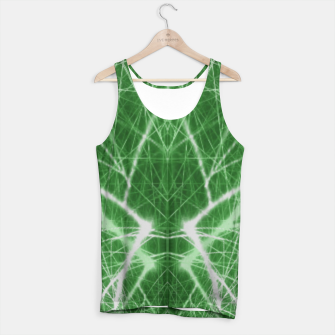 Thumbnail image of Piercing Green Tank Top, Live Heroes