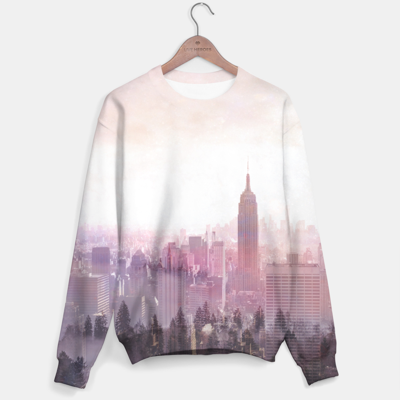 Image of New York City Sweater - Live Heroes
