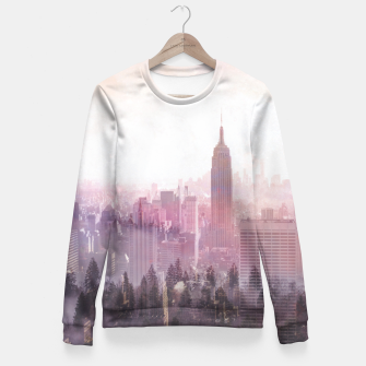 Thumbnail image of New York City Fitted Waist Sweater, Live Heroes