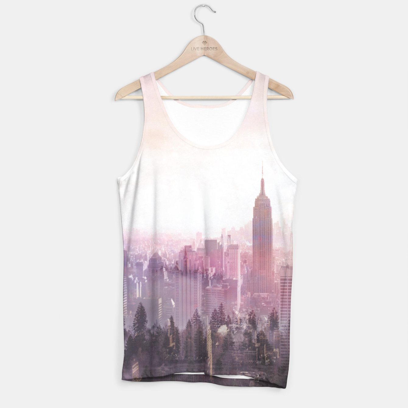 Image of New York City Tank Top - Live Heroes