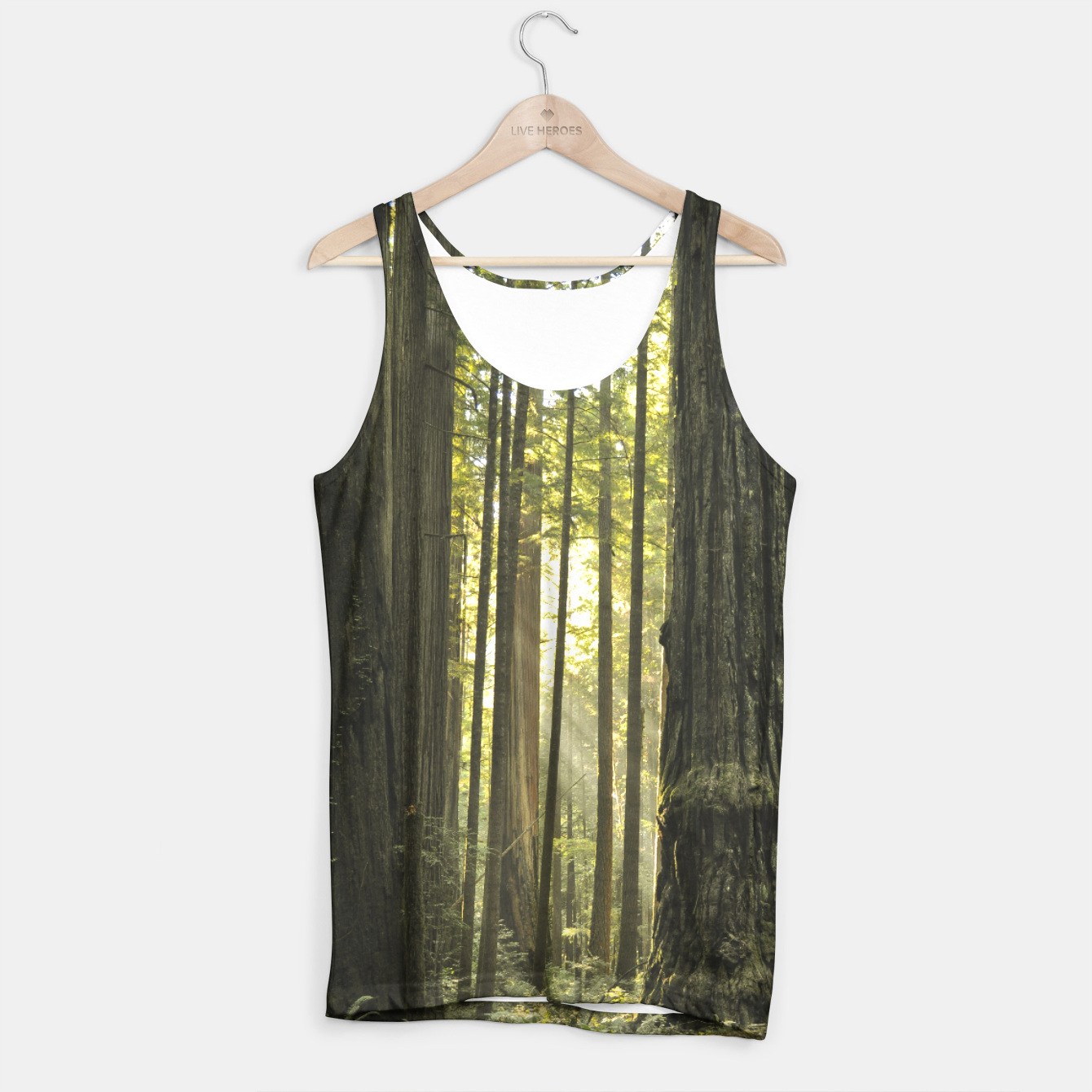 Image of Into the woods Tank Top - Live Heroes